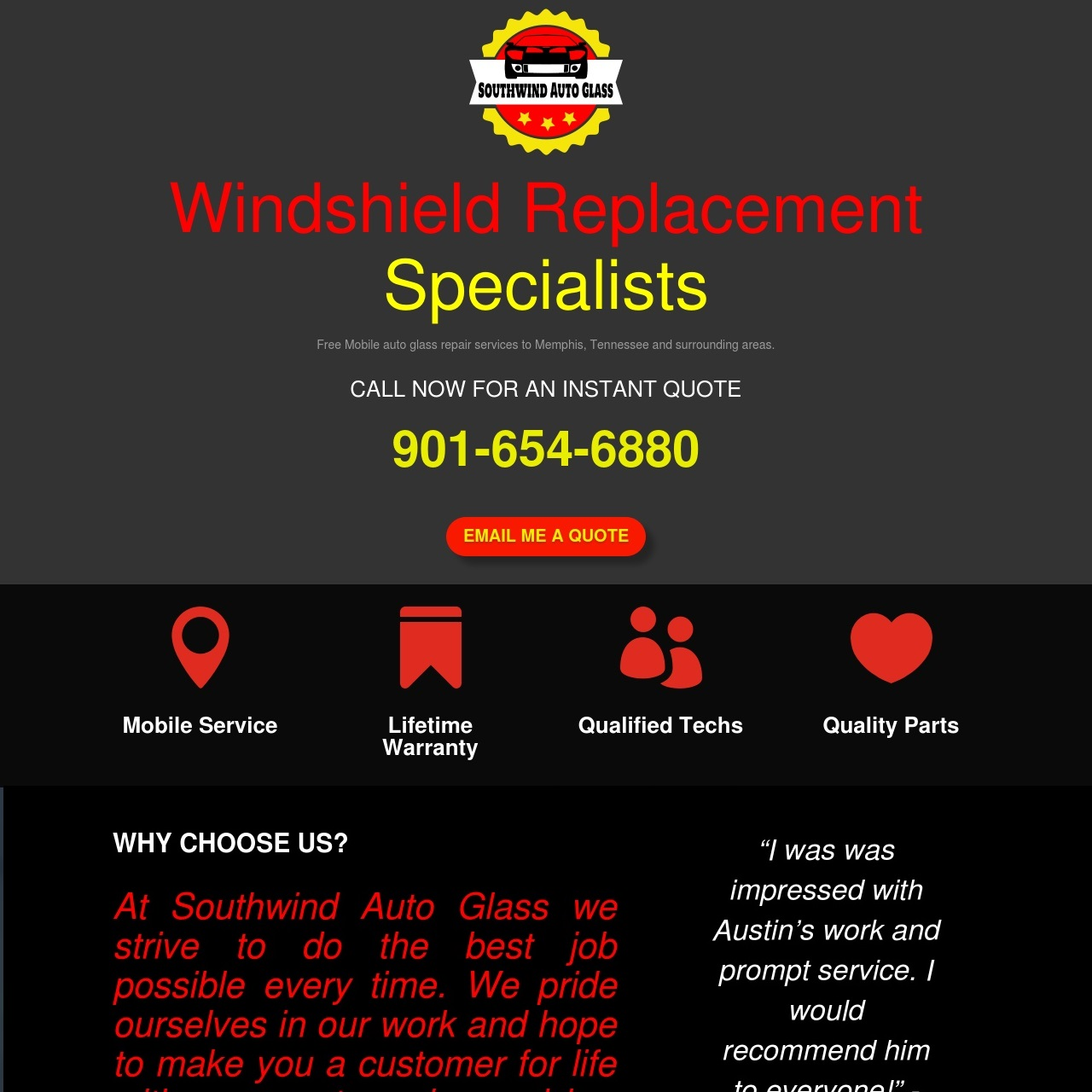 Windshield Replacement in Memphis TN